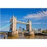 Vliesové fototapety Tower Bridge rozmer 375 cm x 250 cm