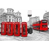 Vliesové fototapety Londýn rozmer 375 cm x 250 cm