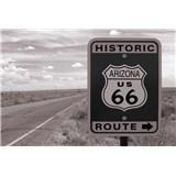 Vliesové fototapety historická cesta rozmer 375 cm x 250 cm