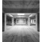 Vliesové fototapety priemyselná hala rozmer 225 cm x 250 cm