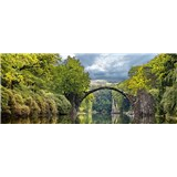 Vliesové fototapety oblúkový most rozmer 375 cm x 150 cm