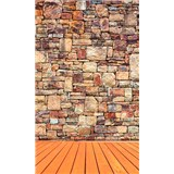 Vliesové fototapety kamenná stena rozmer 150 cm x 250 cm