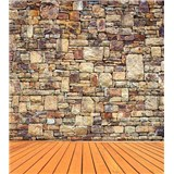 Vliesové fototapety kamenná stena rozmer 225 cm x 250 cm