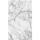 Vliesové fototapety mramor biely rozmer 150 cm x 250 cm