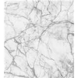 Vliesové fototapety mramor biely rozmer 225 cm x 250 cm