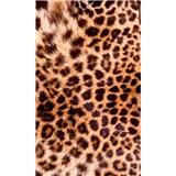 Vliesové fototapety leopardia koža rozmer 150 cm x 250 cm