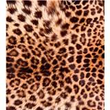 Vliesové fototapety leopardia koža rozmer 225 cm x 250 cm