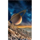 Vliesové fototapety vesmír rozmer 150 cm x 250 cm