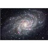 Vliesové fototapety galaxie rozmer 375 cm x 250 cm