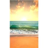 Vliesové fototapety slnko v mori rozmer 150 cm x 250 cm