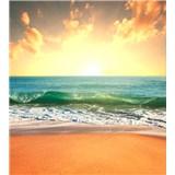 Vliesové fototapety slnko v mori rozmer 225 cm x 250 cm