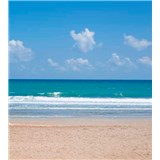 Vliesové fototapety prázdna pláž rozmer 225 cm x 250 cm