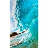 Vliesové fototapety vlny oceánu rozmer 150 cm x 250 cm