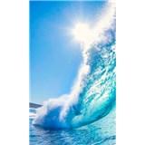 Vliesové fototapety morské vlny rozmer 150 cm x 250 cm