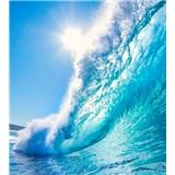 Vliesové fototapety morské vlny rozmer 225 cm x 250 cm