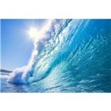 Vliesové fototapety vlny rozmer 375 cm x 250 cm