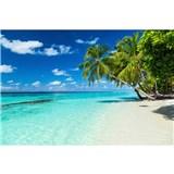Vliesové fototapety rajská pláž rozmer 375 cm x 250 cm