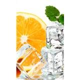 Vliesové fototapety citrón a ľad rozmer 150 cm x 250 cm