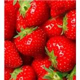 Vliesové fototapety jahody rozmer 225 cm x 250 cm