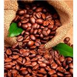 Vliesové fototapety kávové zrnká rozmer 225 cm x 250 cm