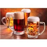Vliesové fototapety pivo rozmer 375 cm x 250 cm