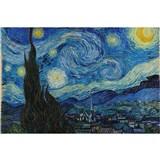 Vliesové fototapety hviezdna noc - Vincent Van Gogh rozmer 375 cm x 250 cm