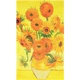 Vliesové fototapety slnečnica - Vincent Van Gogh rozmer 150 cm x 250 cm