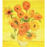 Vliesové fototapety slnečnica - Vincent Van Gogh rozmer 225 cm x 250 cm