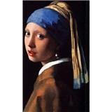 Vliesové fototapety Dievča s perlou - Johannes Vermeer rozmer 150 cm x 250 cm