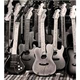 Vliesové fototapety gitarová kolekcia rozmer 225 cm x 250 cm