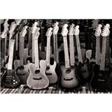 Vliesové fototapety gitarová kolekcia rozmer 375 cm x 250 cm