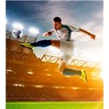 Vliesové fototapety futbalový hráč rozmer 225 cm x 250 cm