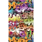 Vliesové fototapety graffiti rozmer 150 cm x 250 cm