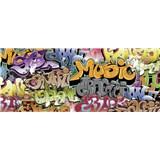 Vliesové fototapety graffiti rozmer 375 cm x 150 cm