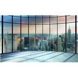 Fototapety 3D New York pohľad z mrakodrapu, rozmer 368 cm x 254 cm