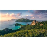 Vliesové fototapety Hefele opičí ostrov, rozmer 350 cm x 280 cm