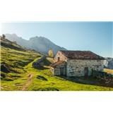 Vliesové fototapety Hefele pohorie Alm, rozmer 450 cm x 280 cm