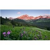 Vliesové fototapety Hefele malebné Švajčiarsko, rozmer 450 cm x 280 cm
