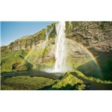Vliesové fototapety Hefele malebný Island, rozmer 450 cm x 280 cm