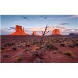 Vliesové fototapety Hefele divoký západ, rozmer 450 cm x 280 cm