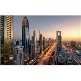 Vliesové fototapety Hefele Level 43 - Dubaj, rozmer 450 cm x 280 cm