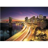 Fototapeta New York Night, rozmer 368 x 254 cm