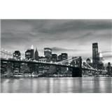 Vliesové fototapety New York City rozmer 208 cm x 146 cm