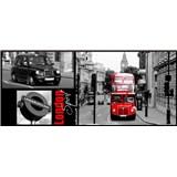 Vliesové fototapety Londýn, rozmer 250 x 104 cm