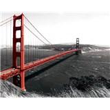 Vliesové fototapety Golden Gate Bridge, rozmer 208 x 146 cm