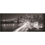 Vliesové fototapety Brooklyn Bridge, rozmer 250 x 104 cm