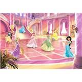 Fototapety Disney Princess trblietavá párty rozmer 368 cm x 254 cm
