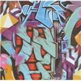 Papierové tapety na stenu Graffiti