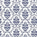 Samolepiace tapety ornamenty modré - 45 cm x 15 m
