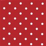Samolepiace tapety bodky červené 45 cm x 15 m